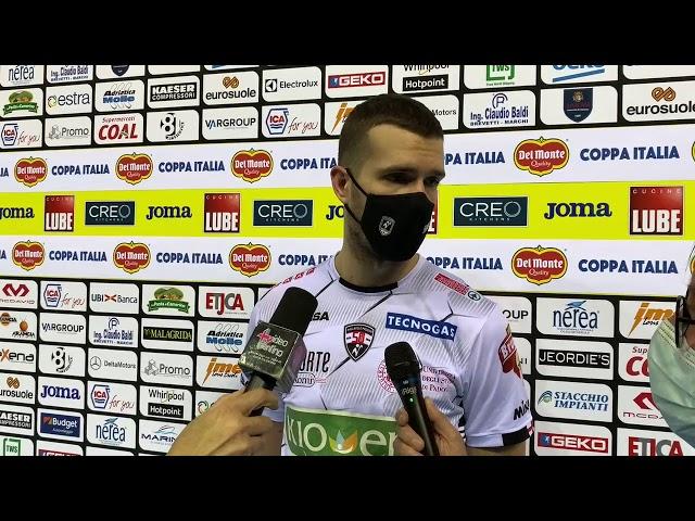 Milan dopo Civitanova-Padova 3-0: