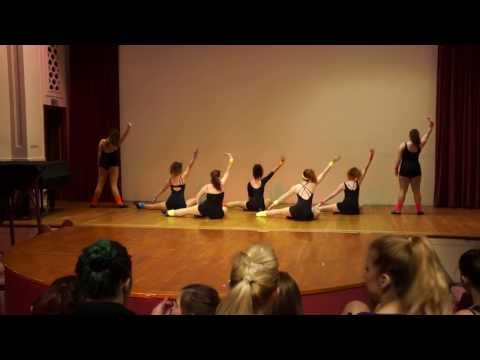 Swansea University Intermediate Jazz Dance - Cardiff Competition (15/03/2014)