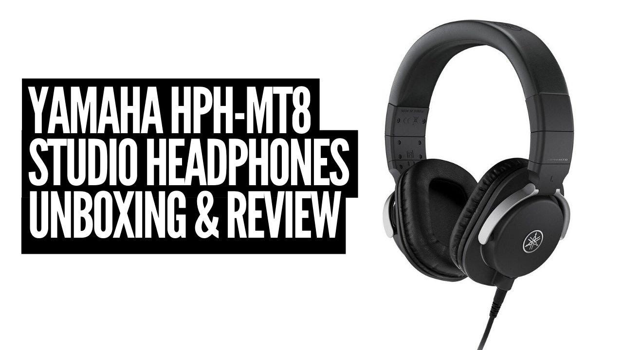 Yamaha Hph Mt8 Studio Headphones Unboxing Review Youtube