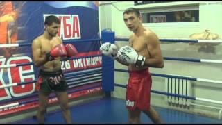 Тайский бокс, видеоурок: отработка ударов и захвата