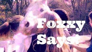 FOXXY SAYS       Foxxy Fridays