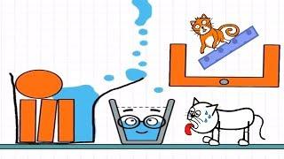 Happy Glass Vs Hello Cats - Gameplay Walkthrough
