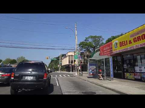 Driving from Fresh Meadows to Springfield Gardens in Queens,New York