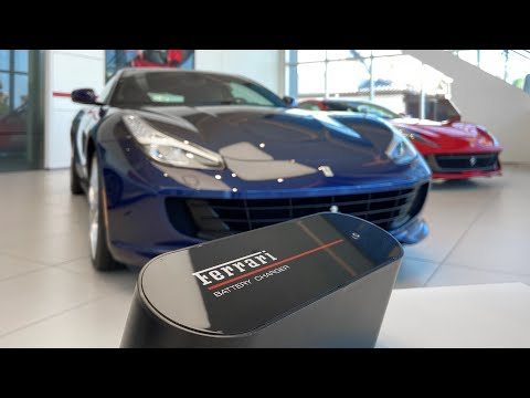 How To Connect A Ferrari Battery Charger