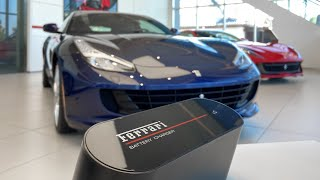How To Connect A Ferrari Battery Charger Youtube