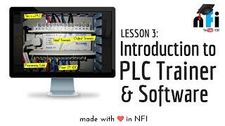 PLC E-Learning - Session 3   Introduction to PLC Trainer & PLC Software
