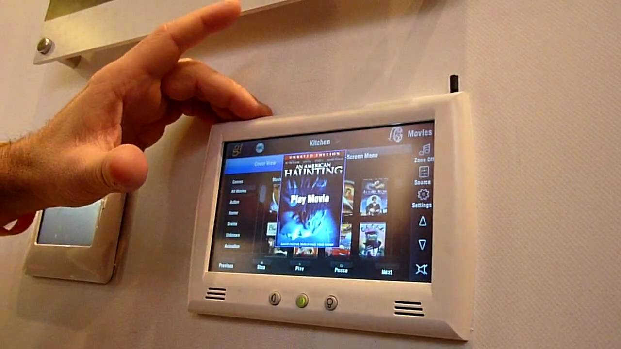 Elan home systems demos g home automation system at ise for Automated home system