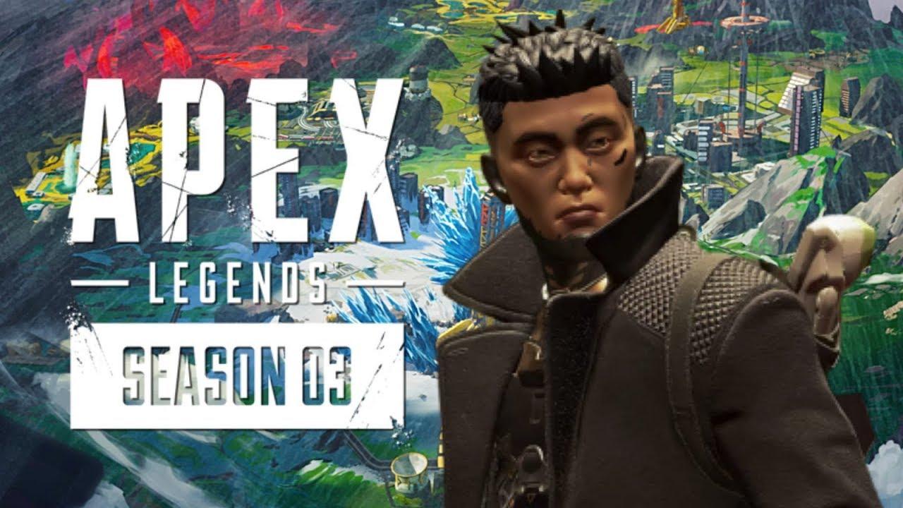 O CRYPTO É MUITO BOM e o MAPA NOVO TÁ LINDO! - GAMEPLAY APEX LEGENDS SEASON 3