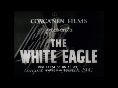 """THE FREE POLISH IN EXILE IN BRITAIN  """"THE WHITE EAGLE"""" 44924"""