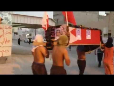 التشييع الرمزي للشهيد عبدالله الاوجامي