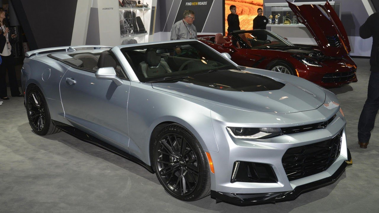 The Best Of 2017 Chevrolet Camaro Zl1 Convertible Review