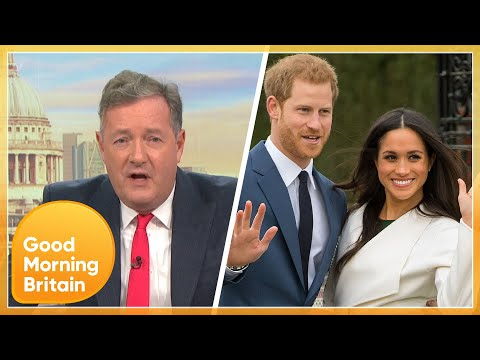 Piers Erupts at Reports of Prince Harry and Meghan Markle Reality Show   Good Morning Britain