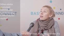 Basware Asiakkaan Ääni, Niina Söderström, Työeläkevakuutusyhtiö Elo