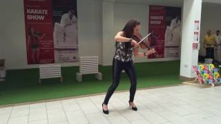 "Vivaldi: ""Summer"" & Congress Reel (Irish) / Lotta Virkkunen Violin"