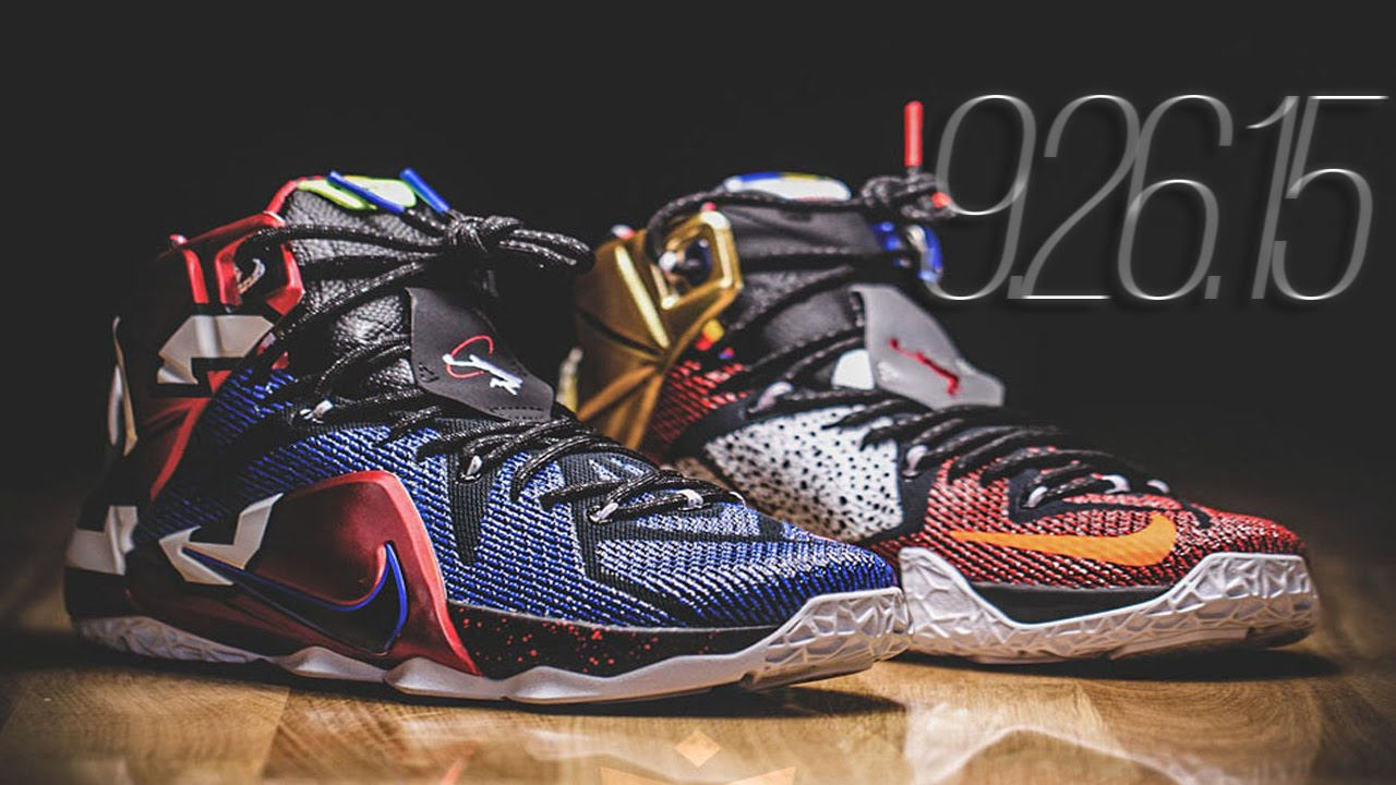 "6bc10881b3ebd NIKE ""WHAT THE"" LEBRON 12 SE - YouTube"
