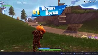 Solo Win With New Jack Gourdon Skin Fortnite Battle Royale