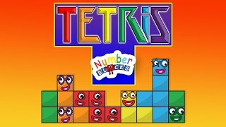 Numberbloctris | Number blocks one two three four five and more | Classic Tetris | Fun House Toys
