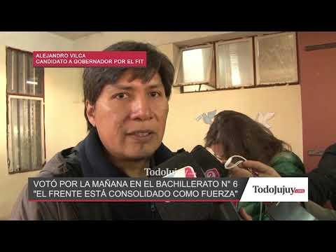 Alejandro Vilca: Somos la alternativa a los partidos tradicionales