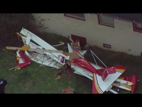 WEB EXTRA: Small Plane Crashes In Lebanon Back Yard