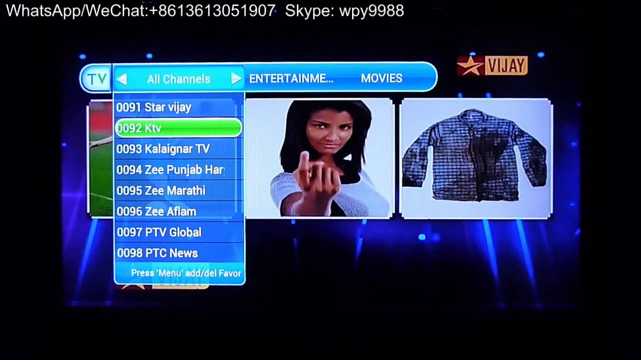 android tv box indian channels