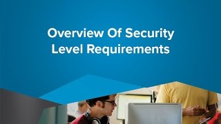 Overview Of Security Level Requirements - SiteLink Training Video