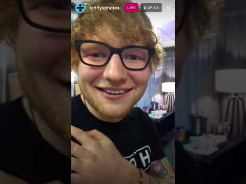 Ed Sheeran - Instagram Live - 22 Sept '17