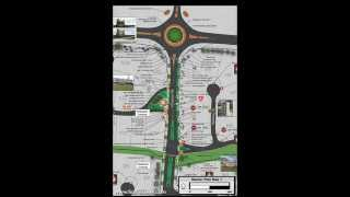 Fearless Eye, Inc. - Longview Farms Master Plan:  Streetscape Entrance Plan