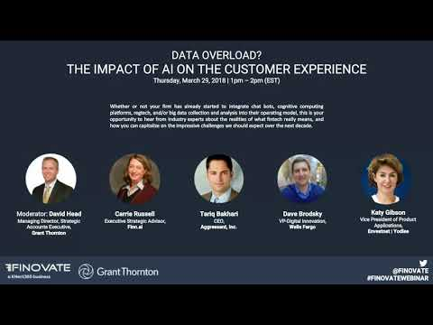 Webinar: Data Overload? The Impact of AI on the Customer Experience