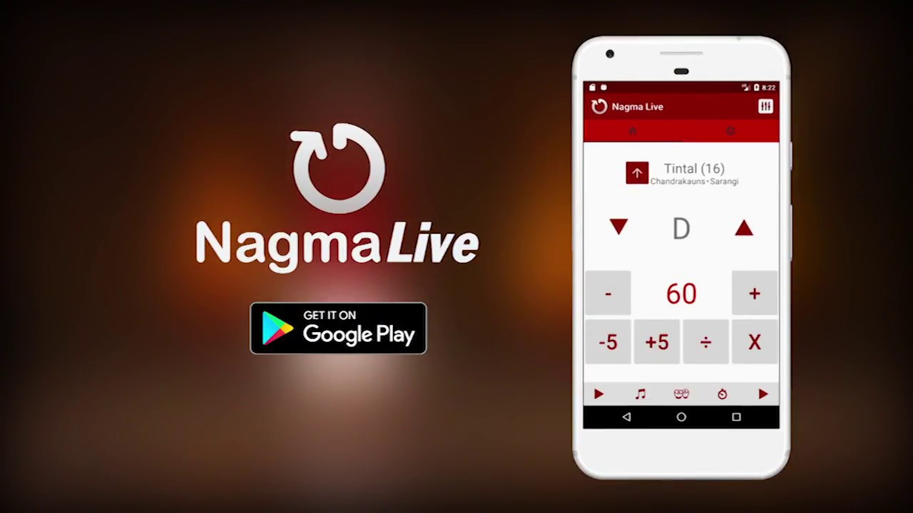 NagmaLive - Enliven your practice  Fine-tune your performance