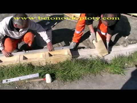 Download Postup výstavby murovaných plotov