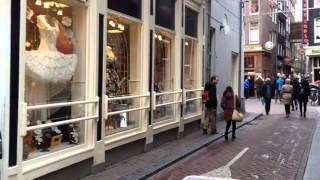 Нидерланды Амстердам, квартал красных фонарей, янв 2016(, 2016-02-12T20:14:32.000Z)