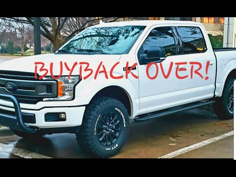FINAL 2018 F150 5.0 ISSUE/LEMON LAW/BUYBACK