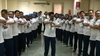Yel Yel BPJS Ketenagakerjaan Cabang Palembang