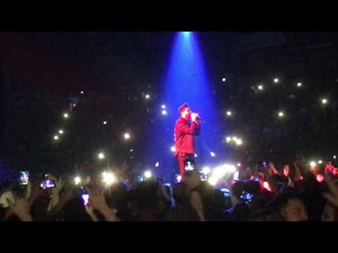The Weeknd - Starboy (Live @ Metro Radio Arena, Newcastle) 11/03/17