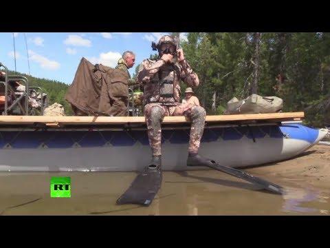 Les vacances de Vladimir Poutine en Sibérie comme si vous y étiez