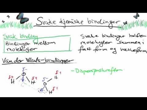 Svake kjemiske bindinger