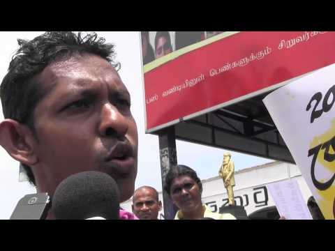 Graduates in Protest Demanding  Jobs