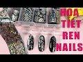 Hướng dẫn cách làm nails họa tiết ren từ cuộn foi đơn giản cơ bản và siêu nhanh chóng