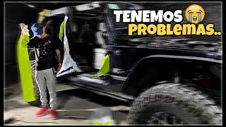NO PUDIMOS PEGAR EL WRAP EN MI JEEP... | ManuelRivera11