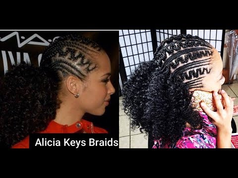 253 Alicia Keys Inspired Braids Youtube