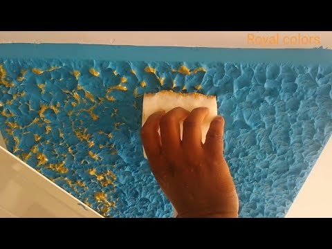 2 LETEST  WALL PUTTY POP DESIGN