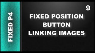 Web Design Tutorials for Xara Web Designer 9 Premium Lesson 125: Fixed Position Button Link part 4
