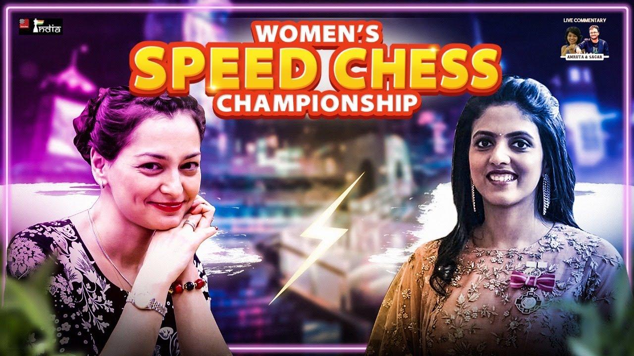 Download Harika vs Kosteniuk | Women Speed Chess Championship 2021