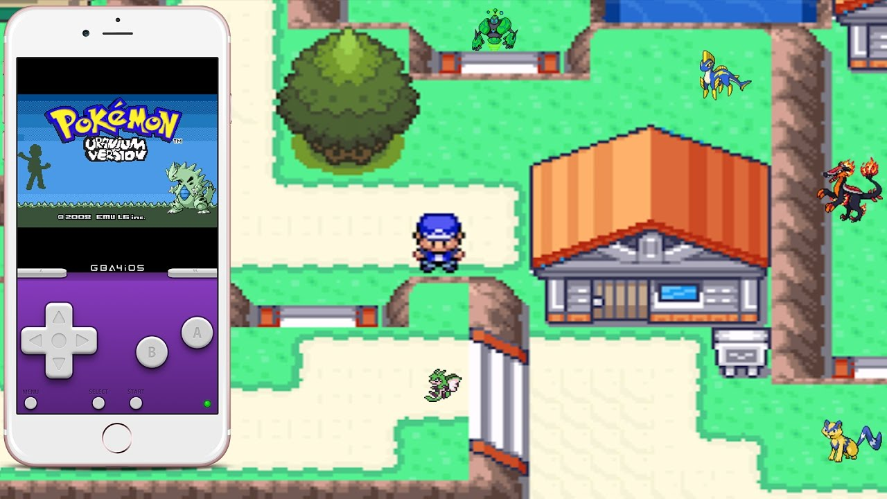 how to get pokemon uranium on android