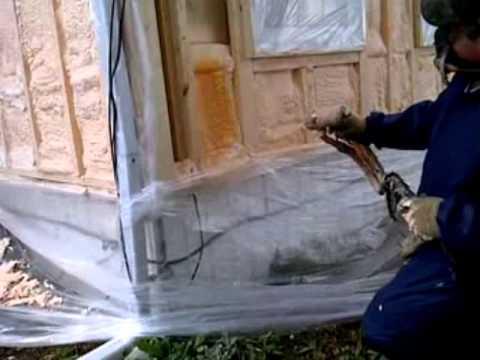 Spray Foam By Reitzel Insulation Mobile Home Bonus Room Walls Wmv