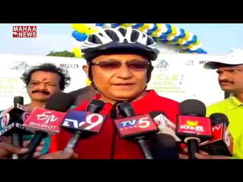 Rajiv Trivedi Speech In Bharat Petroleum Corporation Limited Cycle Rally At Necklace Road