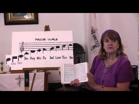 Shape Note Singing Introduction, Rhodyjane Meadows