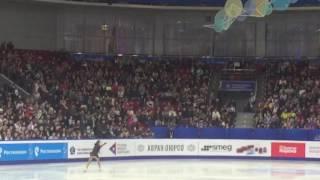 Чемпионат России по фигурному катанию, женщины. 24.12.2016 Челябинск