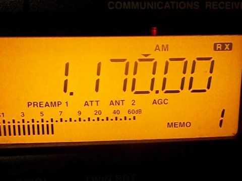 1170 khz  -   SLOVENIA - Radio Capodistria