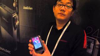 CES 2014 AstellKern AK240 High-Resolution Portable Player